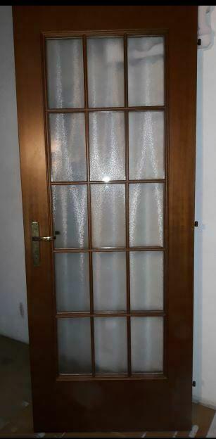 Porte in legno e vetro 80x210 con inglesina