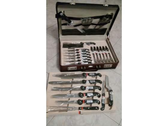 Set da 24 pezzi di coltelli da cucina Von Meister