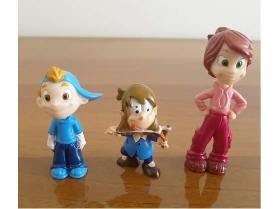 3 Sorpresine Kinder Ferrero Serie Animotosi e I Magicanti