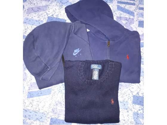 Abbigliamento bimbo taglia 7 anni (ralph lauren, Nike)