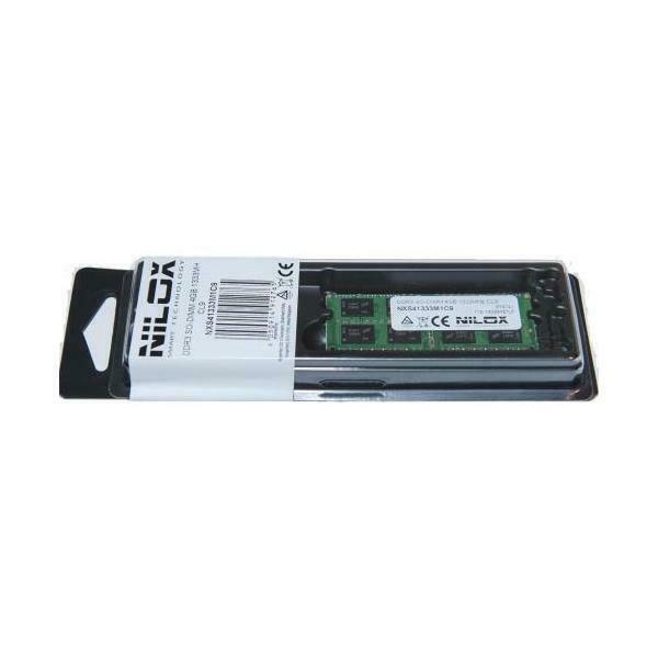 Memoria ram nilox - ddr3 - 4 gb - so dimm 204-pin - senza