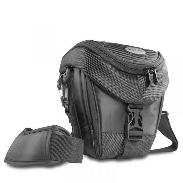 , borsa da spalla, nero, 190 x 190 x 100 mm