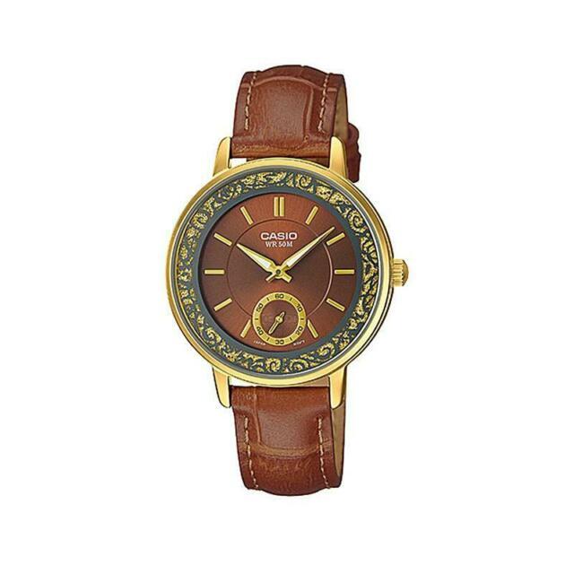 Casio ltp-e408gl-5a orologio donna al quarzo