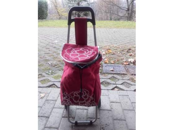 Trolley con ruote per la spesa