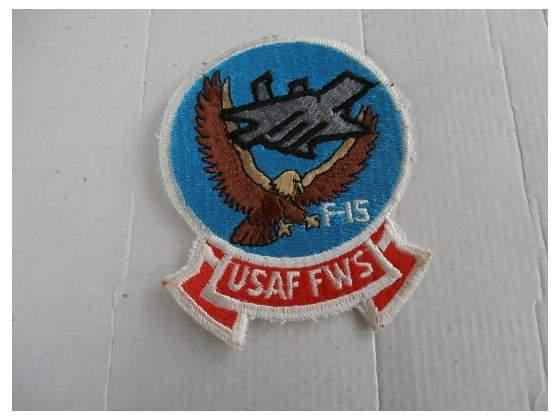 Usaf fws f15 patch