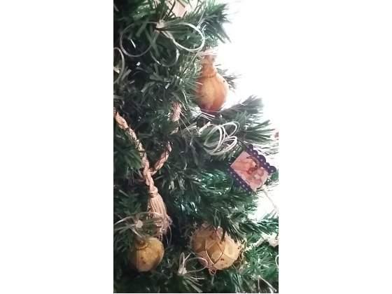 Albero di Natale sintetico con luci
