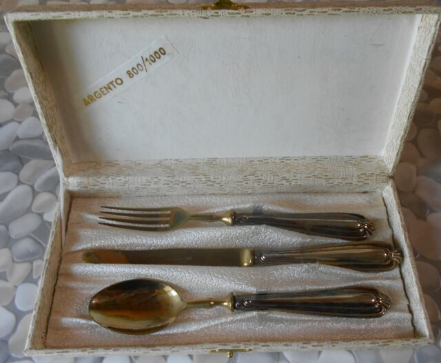 87f571d012 Set 75 posate in argento caregaro mai usate | Posot Class