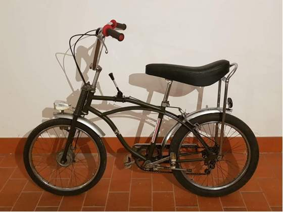 Chiorda bici tipo cross anni 70