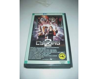 CYBORG 2 vhs videocassetta film cinema rara ex nolo noleggio