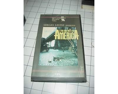 C'era una volta in America De Niro vhs videocassetta film