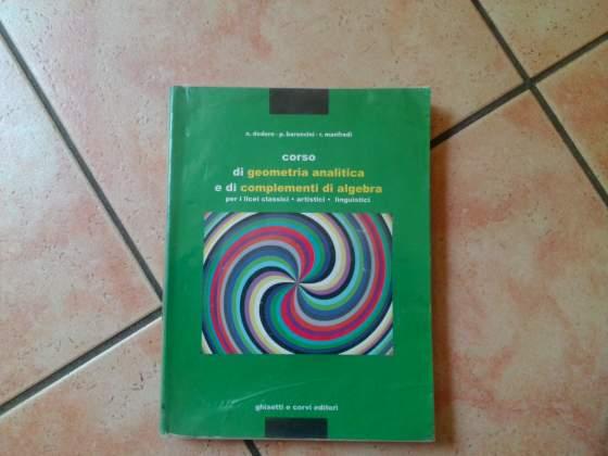 Corso di geometria analitica. Codice ISBN: