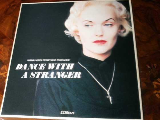 DANCE WITH A STRANGER lp orig soundt  NUOVO Mil CH 024