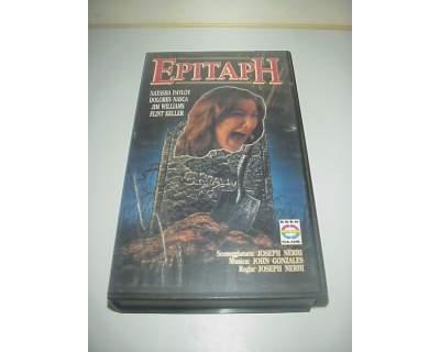 Epitaph film in vhs videocassetta horror ex nolo noleggio