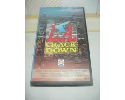 L.A. Crack Down film vhs videocassetta ex nolo noleggio