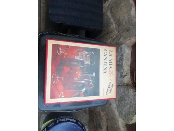 LIBRO LA MIA CANTINA,edizione librex, liquori e cocktails,