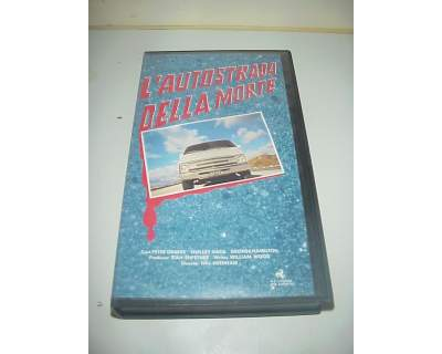 L'autostrada della morte vhs film video videocassetta ex