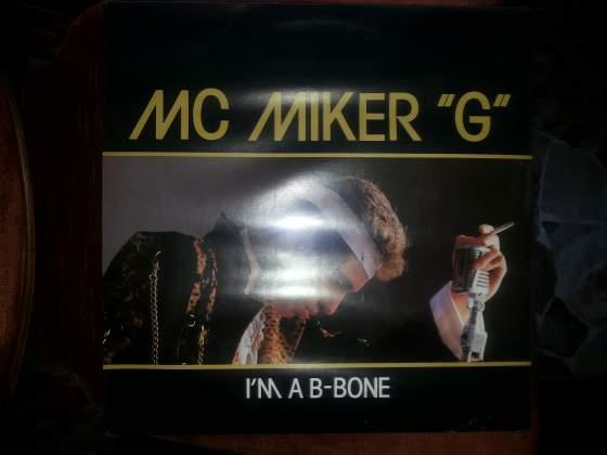 """MC MIKER """"G"""" lp I'm a b-bone stampa raro sigillato"""