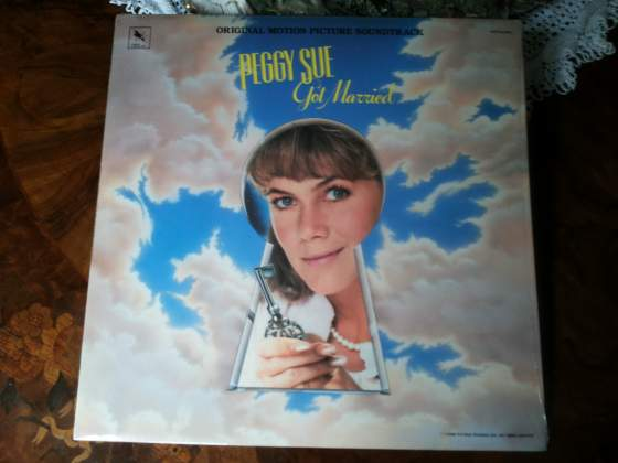PEGGY SUE got married lp orig soundtrack  NUOVO STV