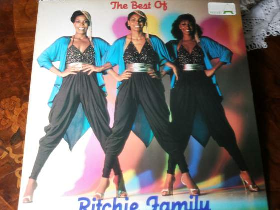 RITCHIE FAMILY the best of lp LSM NUOVO