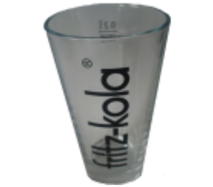 STOCK LOTTO Bicchieri vetro 20cl Fritz Kola Made in Germany