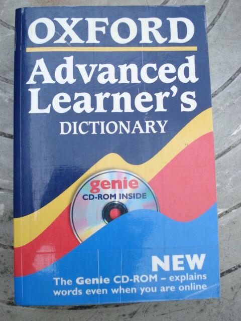 Dizionario di inglese italiano(Oxford Advanced learner's)