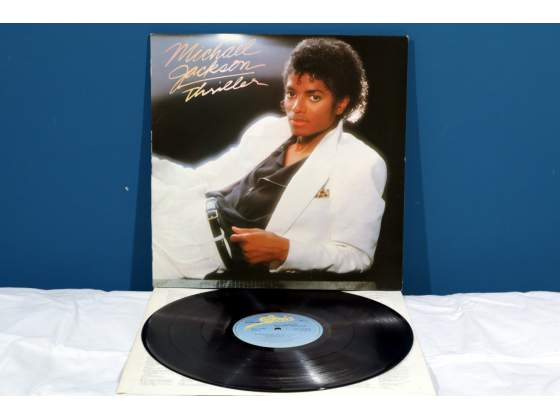 Michael Jackson THRILLER LP Vinile *EX-/EX*  UK RaRo