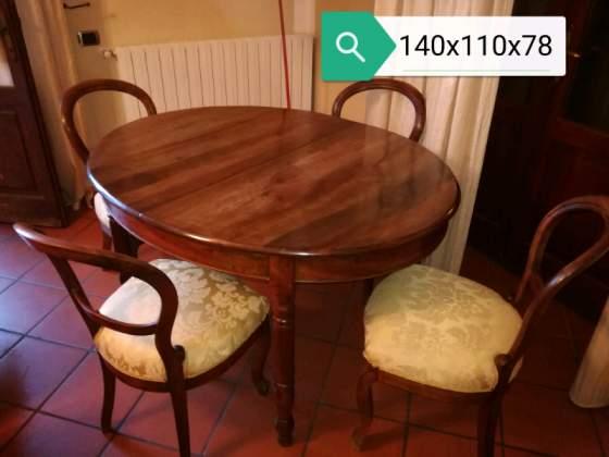 PEZZO DI ANTIQUARIO - Tavolo in legno massello(NO sedie)