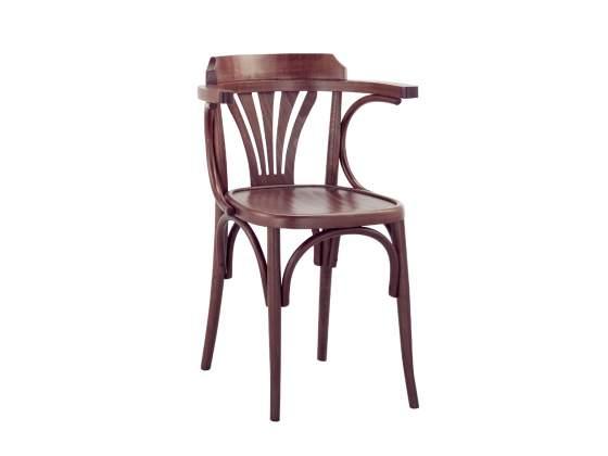 Sedia in legno di faggio verniciata PER ARREDO RISTORANTE