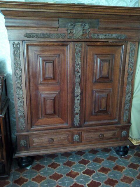 Armadio grande in legno Stile Spagnolo del
