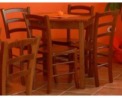 Sedie in legno Bar Ristorante Pizzeria nuove affare