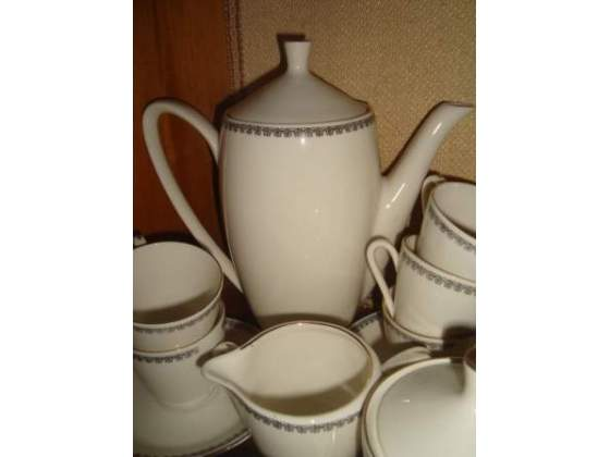 Servizio da caffè in porcellana anni 60