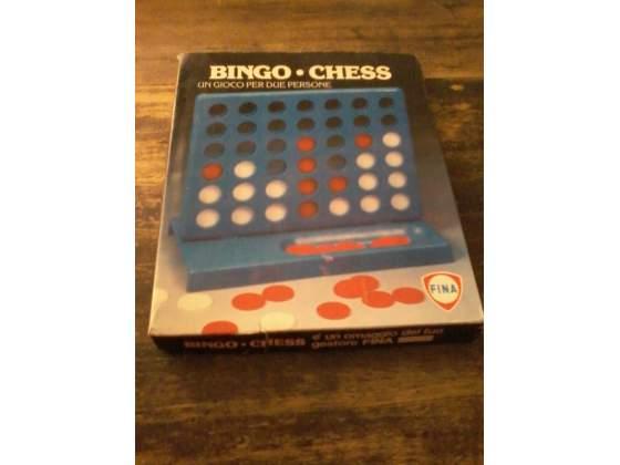 Bingo chess gioco Vintage distributori Fina