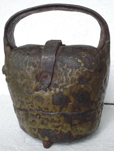 Campana campanaccio da pascolo in ferro battuto /152