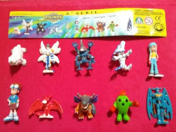 Digimon 2 serie sorpresine giochi preziosi serie completa