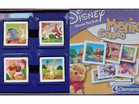 Memo games winnie the pooh disney