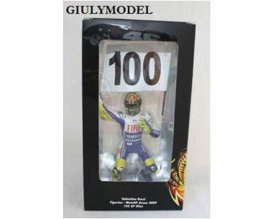 Minichamps figurino valentino rossi 100 gp vittorie motogp
