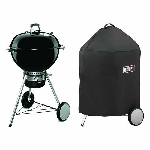 Barbecue a carbone master touch gbs 57 cm black con custodia