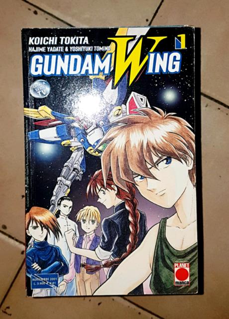 Gundam wing Q.Completa dal 1 al 18
