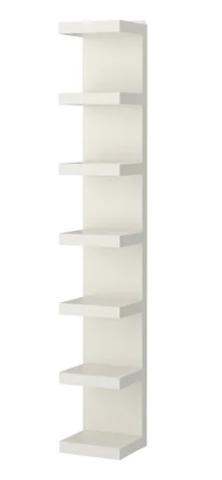 30x190 cm Ikea Lack Libreria Bianco
