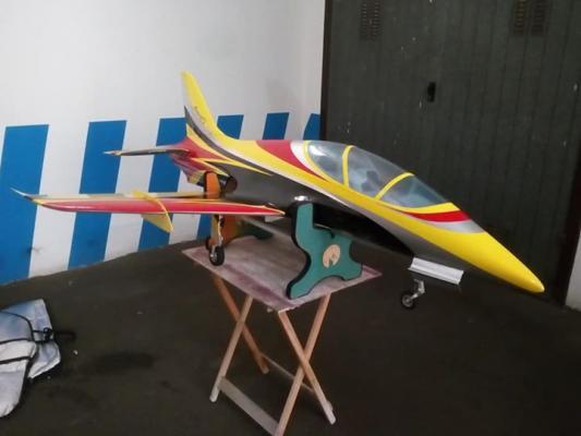 Avanti S sebart 2,1mt aa RTF con turbina Frank ft 160