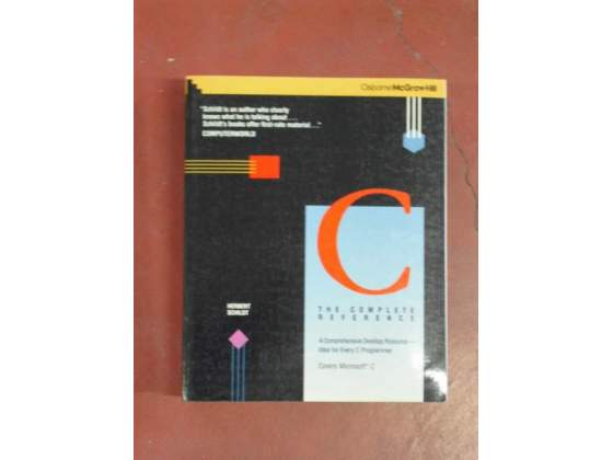 Libri sul C di Herbert Schildt-McGraw-Hill