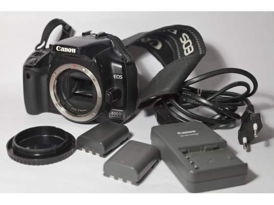 Canon EOS 400D, Reflex digitale. Solo corpo