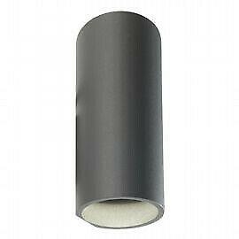 Applique Sovil Sirio TUBO LED 2X6W K colore grigio