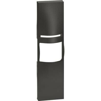 Cover Bticino Living Now per Interruttore IR 1 Modulo Nero