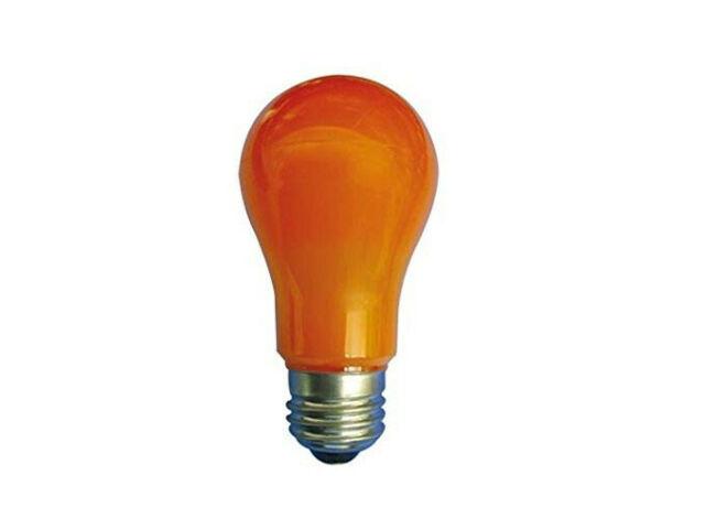 Lampada Duralamp LED 6W Goccia colore giallo/arancio LA55Y