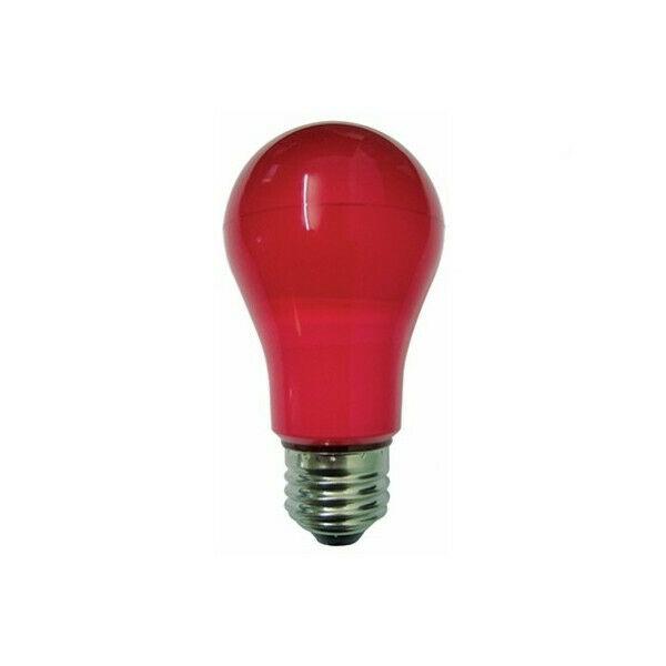 Lampada Duralamp LED 6W Goccia colore rossa E27 LA55R
