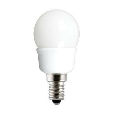 Lampada Sfera GE 7W K attacco E