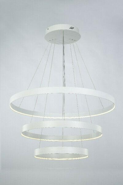Lampadario Sospensione Illuminati bianca LED 99W K