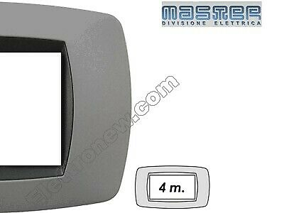 Master modo placca 4 moduli 39tc744