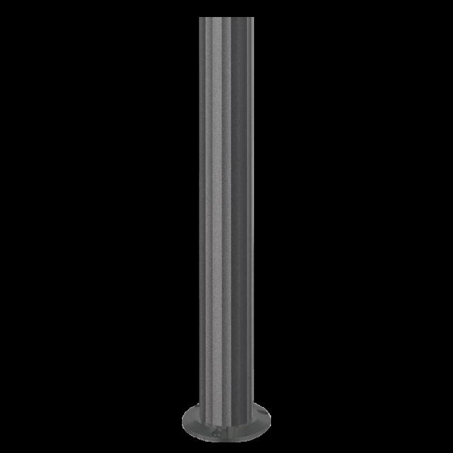 Palo Goccia in alluminio 385mm grafite serie I-LUX GR